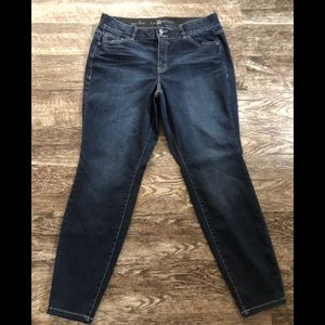 Lane Bryant high rise skinny jeans. Size 18